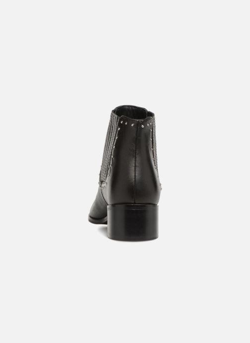 Cuir Noir Boots Monoprix Premium Cloutee CxtsdhBQro