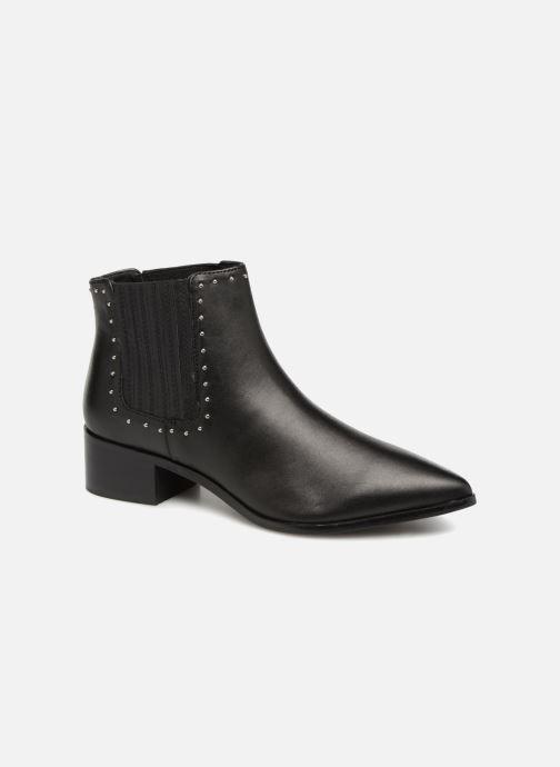 Monoprix Premium Stiefel CUIR CLOUTEE (schwarz) - Stiefeletten & Stiefel bei Más cómodo