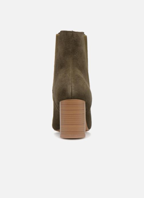 Ankle boots Monoprix Premium BOOTS TALOn ROND Green view from the right