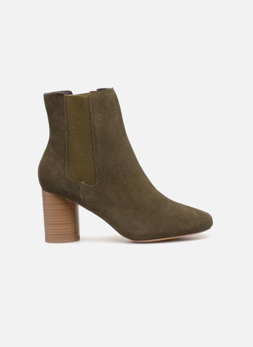 Ankle boots Monoprix Premium BOOTS TALOn ROND Green back view