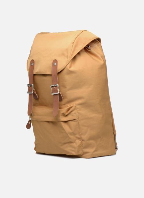 Rucksäcke Monoprix Premium SAC A DOS PREMIUM beige schuhe getragen