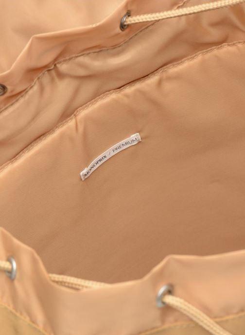 Rucksäcke Monoprix Premium SAC A DOS PREMIUM beige ansicht von hinten