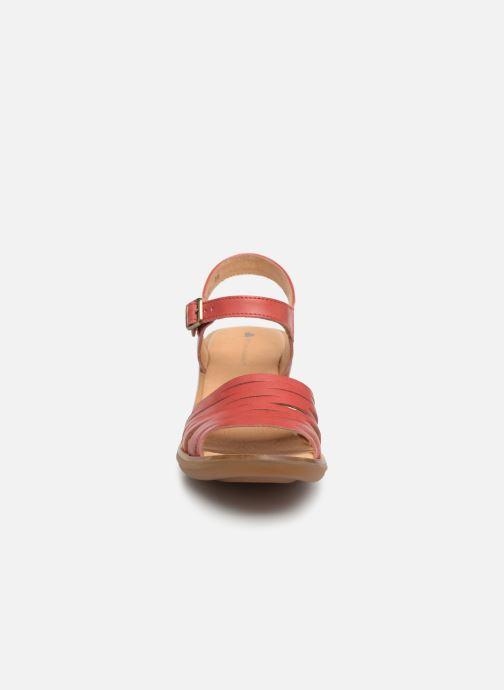 Sandals El Naturalista Aqua N5352 Red model view