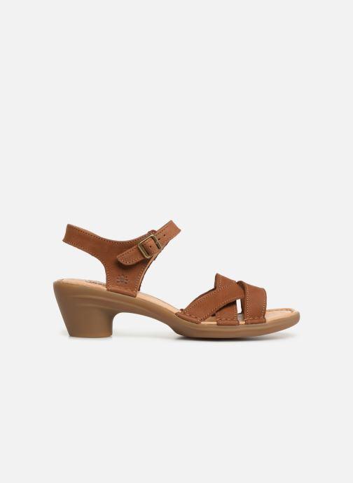 Sandales et nu-pieds El Naturalista Aqua N5372 Marron vue derrière