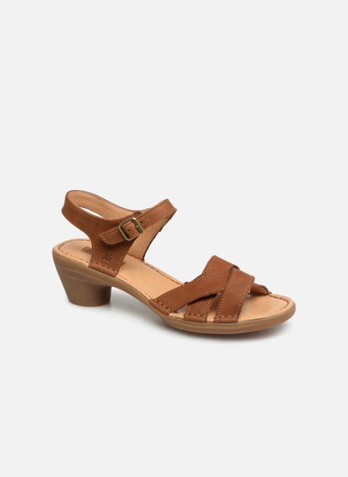 Sandales et nu-pieds El Naturalista Aqua N5372 Marron vue détail/paire