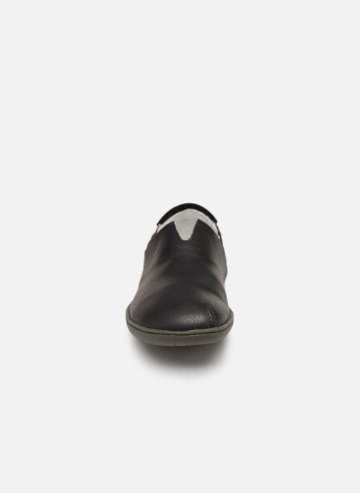 Mocassins El Naturalista El Viajero N275 C W Noir vue portées chaussures
