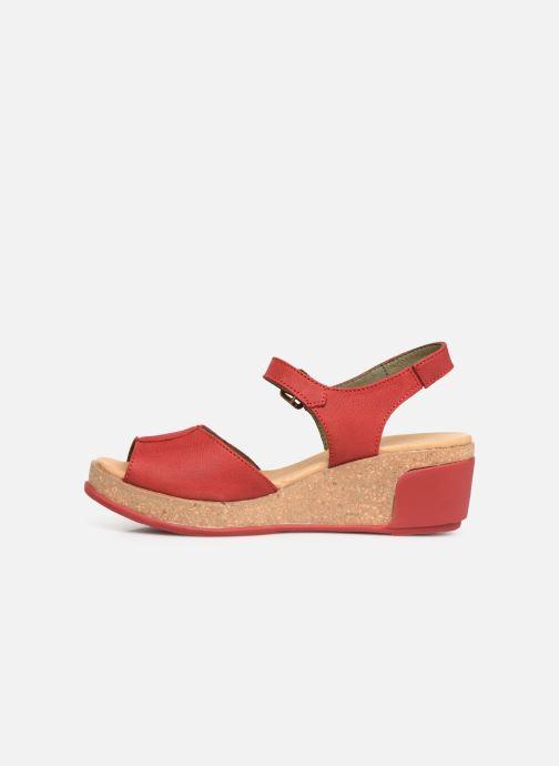 Sandales et nu-pieds El Naturalista Leaves N5000 C Rouge vue face