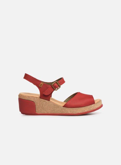 Sandales et nu-pieds El Naturalista Leaves N5000 C Rouge vue derrière