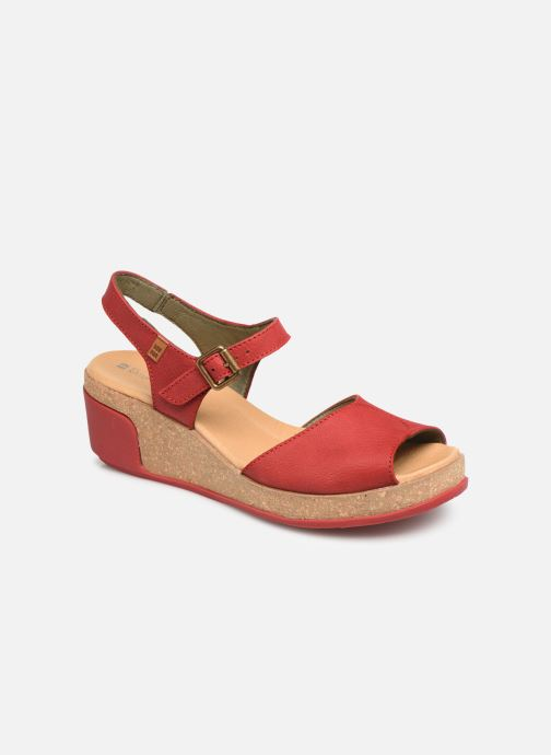 Sandales et nu-pieds El Naturalista Leaves N5000 C Rouge vue détail/paire