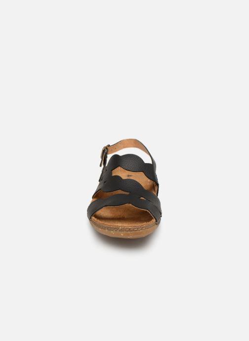 Sandales et nu-pieds El Naturalista Torcal N5223 Noir vue portées chaussures