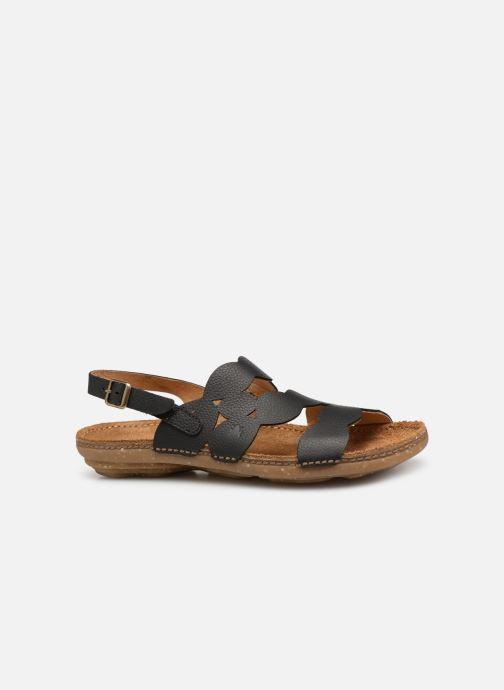 Sandales et nu-pieds El Naturalista Torcal N5223 Noir vue derrière