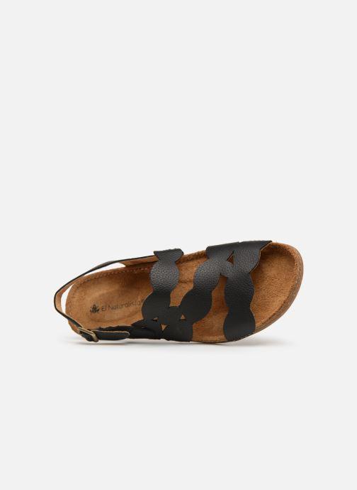 Sandales et nu-pieds El Naturalista Torcal N5223 Noir vue gauche