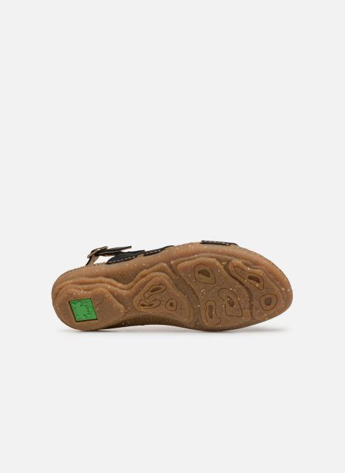 Sandales et nu-pieds El Naturalista Torcal N5223 Noir vue haut