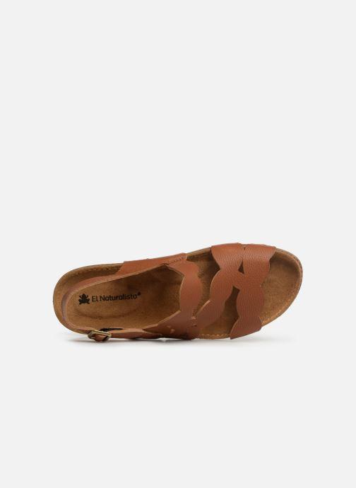 Sandales et nu-pieds El Naturalista Torcal N5223 Marron vue gauche