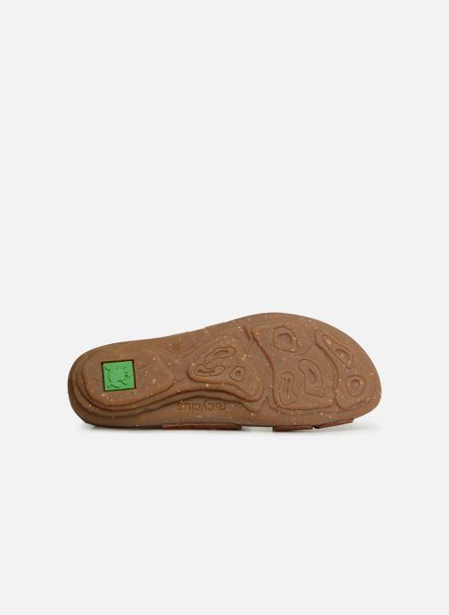 Sandales et nu-pieds El Naturalista Torcal N5223 Marron vue haut