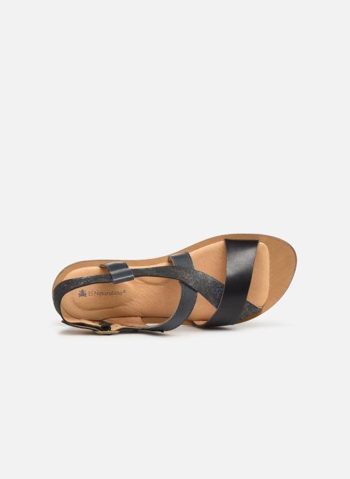 Sandales et nu-pieds El Naturalista Vaquetilla Fantasy N5181 Gris vue gauche