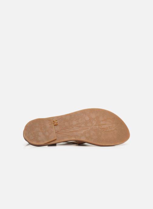 Sandales et nu-pieds El Naturalista Vaquetilla Fantasy N5181 Beige vue haut
