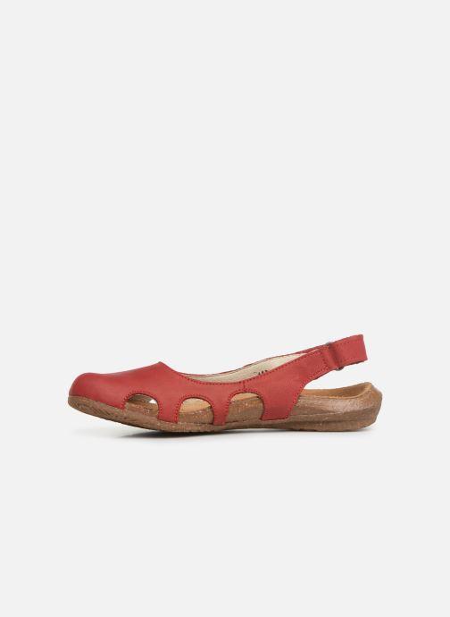 Sandales et nu-pieds El Naturalista Wakataua N413 C Rouge vue face