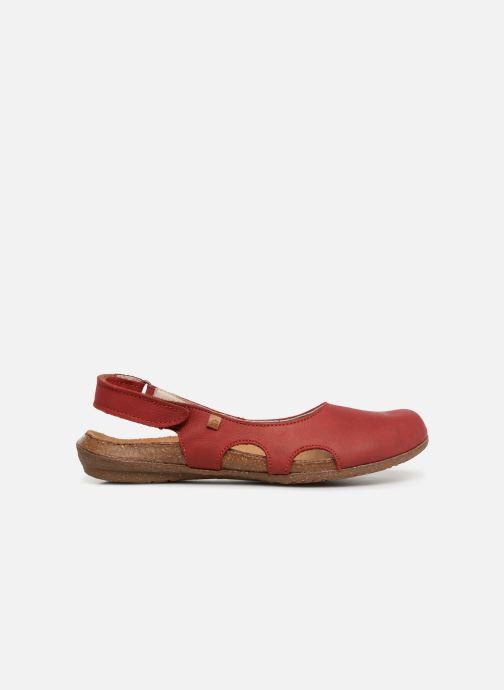 Sandales et nu-pieds El Naturalista Wakataua N413 C Rouge vue derrière