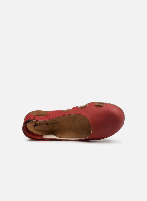Sandales et nu-pieds El Naturalista Wakataua N413 C Rouge vue gauche