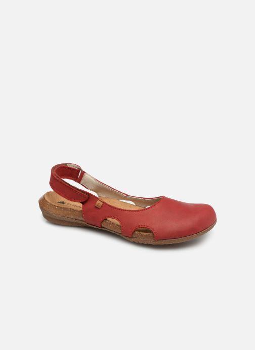 Sandaler El Naturalista Wakataua N413 C Rød detaljeret billede af skoene