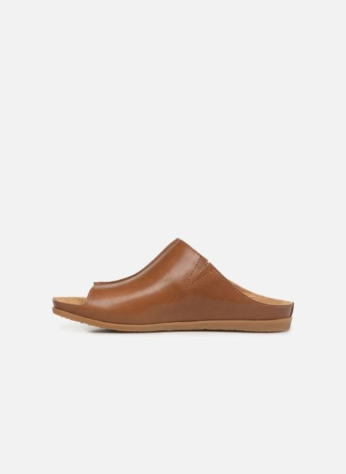 Mules & clogs El Naturalista Zumaia N5253 Brown front view
