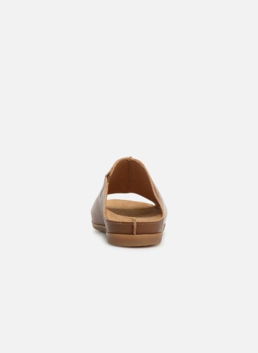 Mules & clogs El Naturalista Zumaia N5253 Brown view from the right