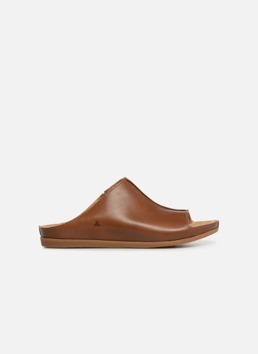 Mules & clogs El Naturalista Zumaia N5253 Brown back view