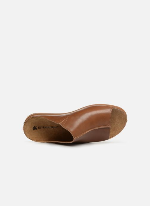 Mules & clogs El Naturalista Zumaia N5253 Brown view from the left