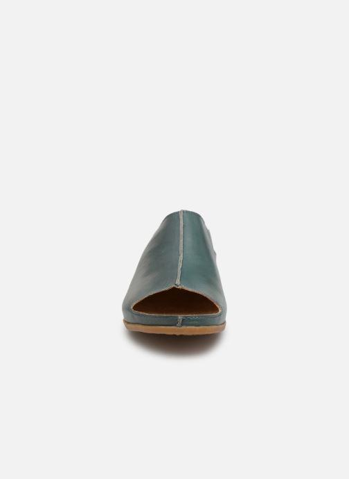 Mules et sabots El Naturalista Zumaia N5253 Bleu vue portées chaussures
