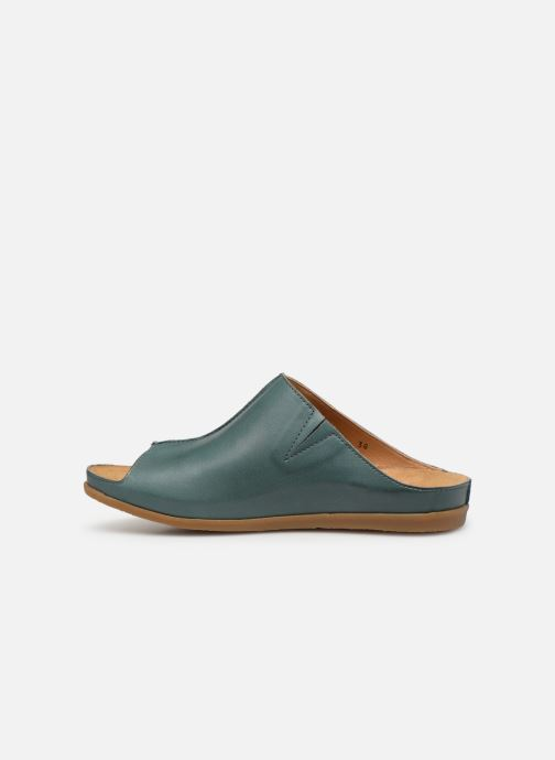 Mules & clogs El Naturalista Zumaia N5253 Blue front view