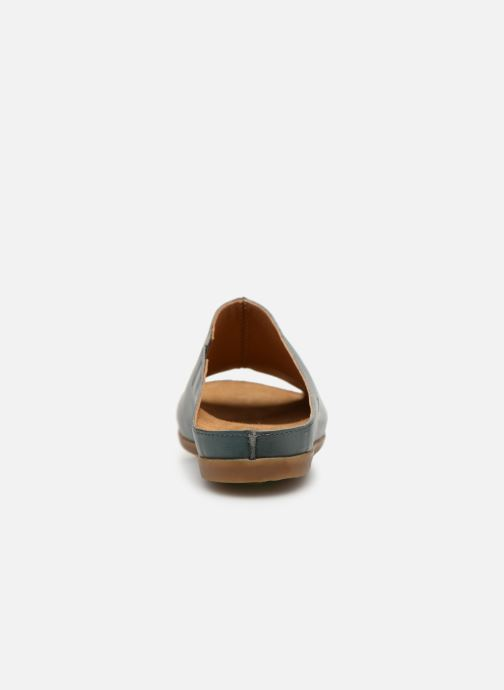 Mules & clogs El Naturalista Zumaia N5253 Blue view from the right