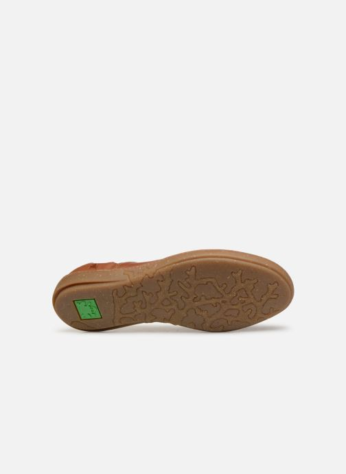 Ballet pumps El Naturalista Coral N5308 Brown view from above