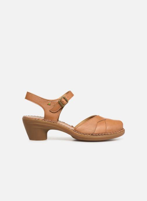 Sandales et nu-pieds El Naturalista Aqua N5324T Marron vue derrière