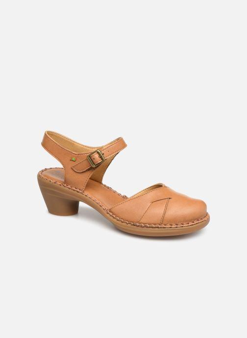 Sandales et nu-pieds El Naturalista Aqua N5324T Marron vue détail/paire