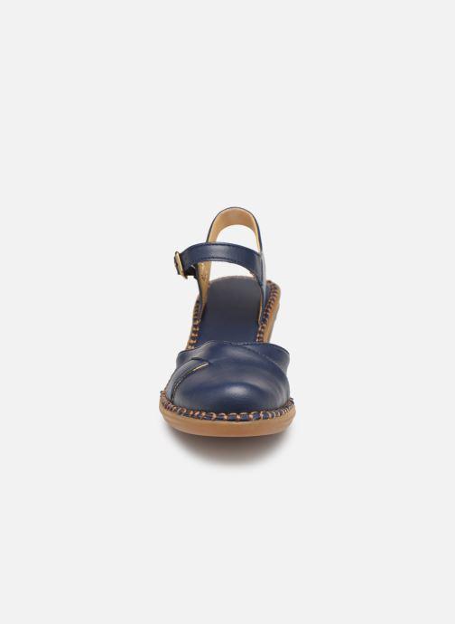 Sandales et nu-pieds El Naturalista Aqua N5324T Bleu vue portées chaussures