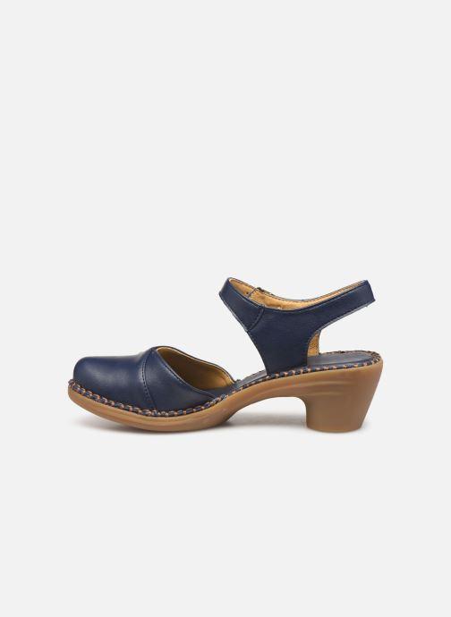 Sandales et nu-pieds El Naturalista Aqua N5324T Bleu vue face