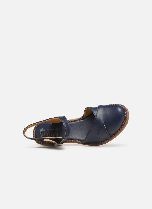 Sandales et nu-pieds El Naturalista Aqua N5324T Bleu vue gauche