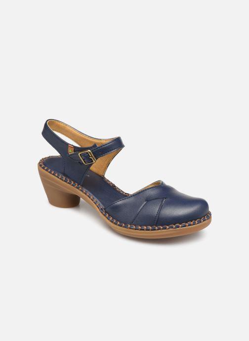 Sandales et nu-pieds El Naturalista Aqua N5324T Bleu vue détail/paire