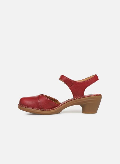 Sandals El Naturalista Aqua N5324T Red front view
