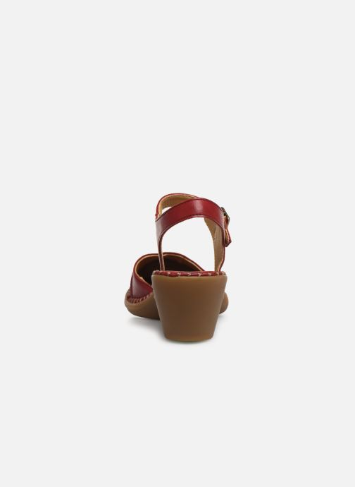 Sandales et nu-pieds El Naturalista Aqua N5324T Rouge vue droite