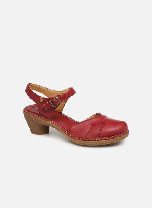 Sandales et nu-pieds El Naturalista Aqua N5324T Rouge vue détail/paire