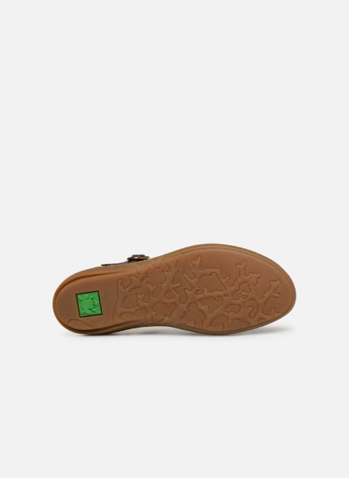 Ballet pumps El Naturalista Coral N5605T Brown view from above