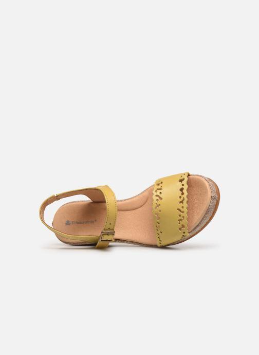 Sandales et nu-pieds El Naturalista Leaves N5026 Jaune vue gauche
