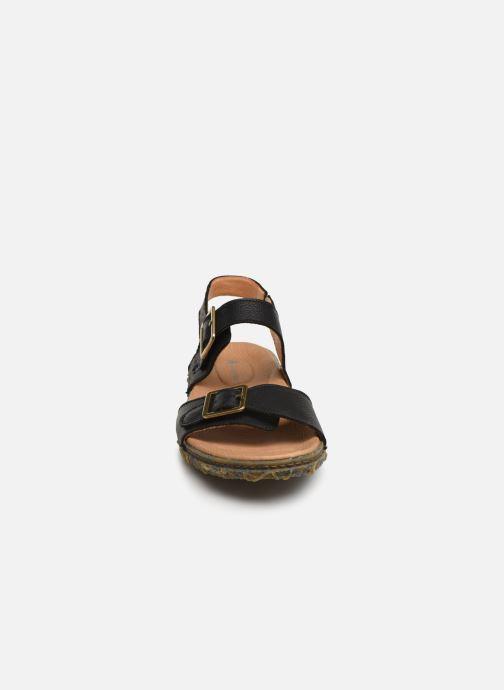Sandales et nu-pieds El Naturalista Redes N5503 Noir vue portées chaussures