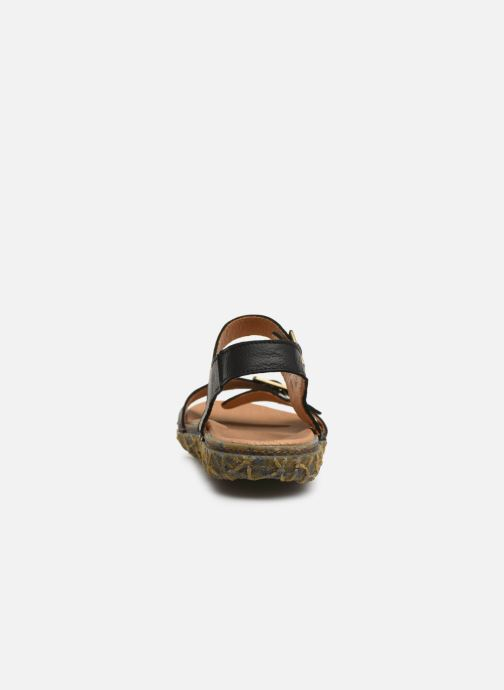 Sandals El Naturalista Redes N5503 Black view from the right