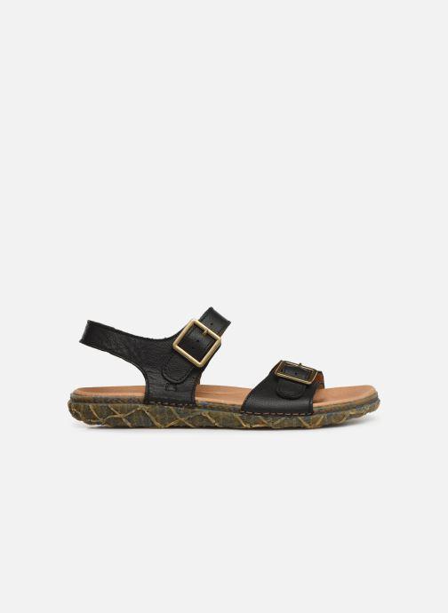 Sandales et nu-pieds El Naturalista Redes N5503 Noir vue derrière
