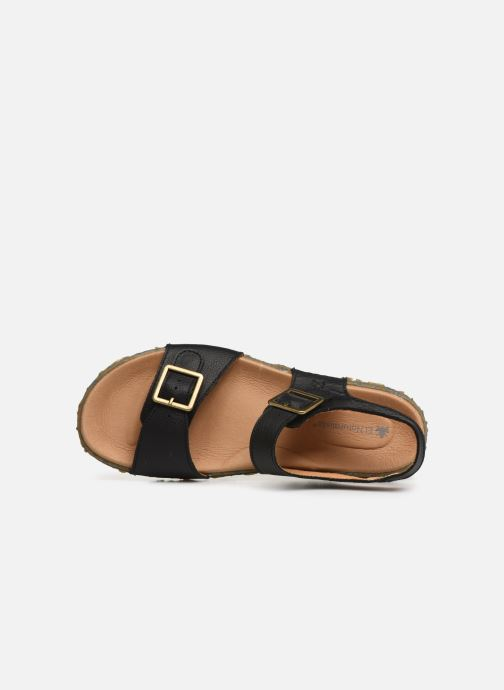 Sandals El Naturalista Redes N5503 Black view from the left