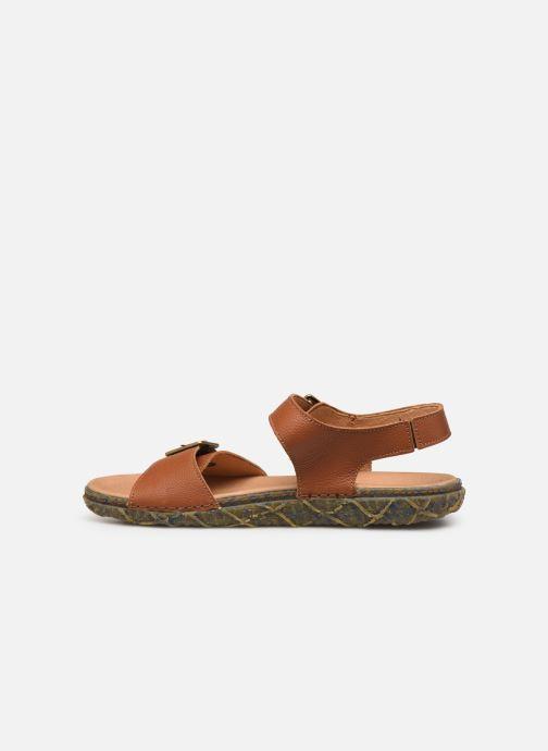 Sandales et nu-pieds El Naturalista Redes N5503 Marron vue face