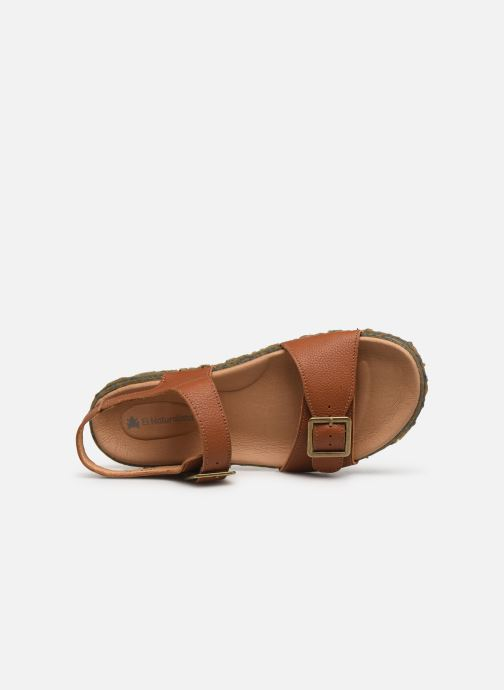 Sandals El Naturalista Redes N5503 Brown view from the left